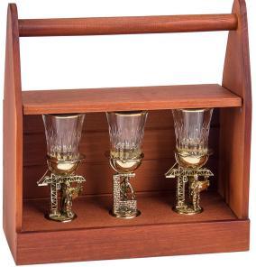 """Набор из 3-х стопок """"Строительные"""" в деревянном ящике для инструментов от 13 600 руб"""