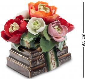 """Музыкальная композиция """" Цветы и книги"""" (керамика) 9,5 см от 4 350 руб"""