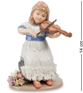"""Статуэтка фарфоровая """"Девочка со скрипкой"""" 14 см от 3 450 руб"""