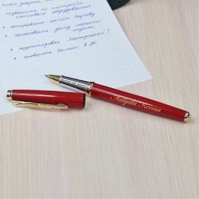 """Ручка-роллер Pierre Cardin """"Galaxy"""" с гравировкой, цвет красный от 2 600 руб"""