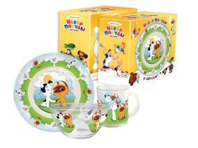 Набор детской посуды Priority КРС-221 Союзмультфильм от 802 руб