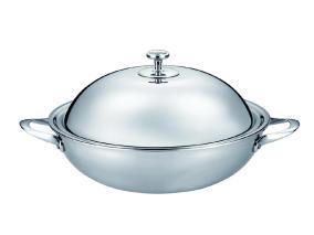 Сковорода-вок из нержавеющей стали Stahlberg Deluxe 1257-S 32 см/5 л от 16 458 руб