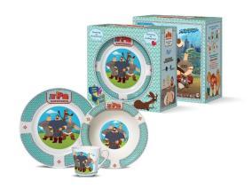 Набор детской посуды Priority КРС-902 Три богатыря от 749 руб