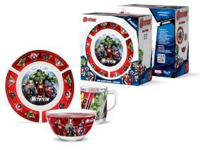 Набор детской посуды Priority КРС-938 Марвел от 922 руб