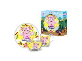 Набор детской посуды Priority КРС-802 Лунтик от 649 руб