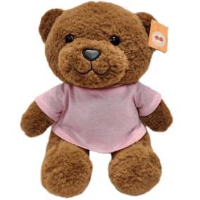 """Мягкая игрушка """"Мишка в розовой футболочке"""" от 2 490 руб"""