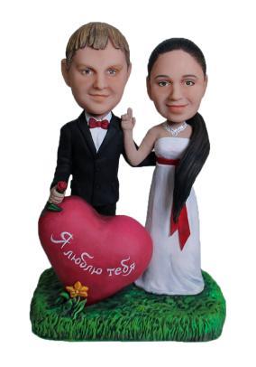 Статуэтка паре по фото «Люблю до глубины души», 20 см. от 18 000 руб