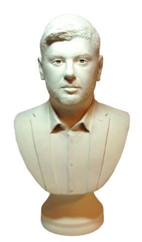 Бюст мужчины по фото, 40 см. от 43 000 руб