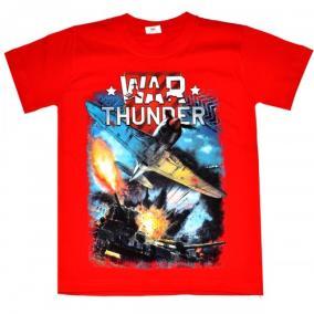 "Футболка подростковая ""War Thunder"" от 580 руб"