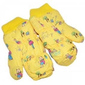 "Варежки детские ""Teddy bear"" (yellow) от 220 руб"