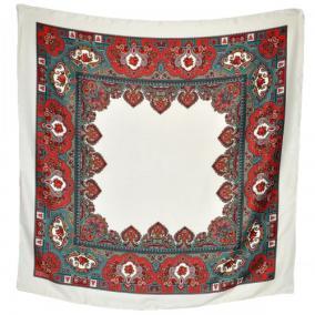 """Платок женский, шерстяной """"Лилия"""" (Турция) -01 от 700 руб"""