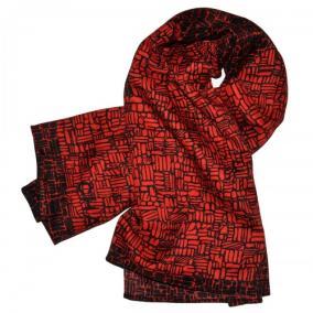 """Платок женский """"Текстура камня"""" (бордовый) от 350 руб"""