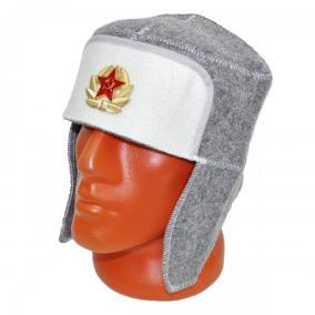 "Шапка для бани ""Звезда (Серп и молот)"" -3 от 440 руб"