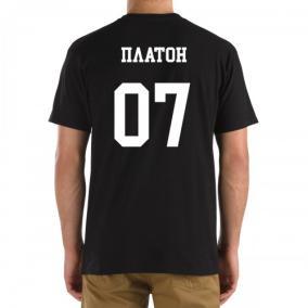 Футболка с номером и именем Платон (на спине) от 760 руб
