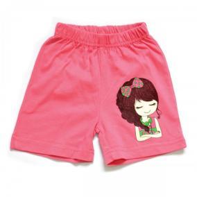 """Шорты для девочки """"Girl"""" (pink) от 250 руб"""