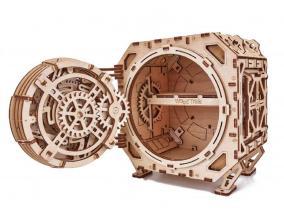 """Механическая сборная модель Wood Trick """"Механический Сейф"""" (15,5х18,5х19 см) от 3 990 руб"""