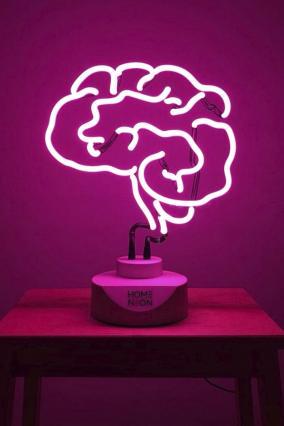 """Неоновая лампа """"Brain"""" (розовый) от 6 990 руб"""