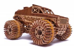 Механическая сборная модель Wood Trick «Монстр-Трак» от 4 990 руб