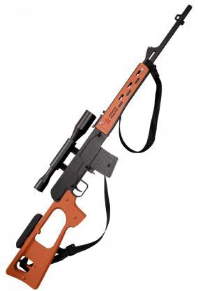Резинкострел из дерева Армия России СВД (Снайперская винтовка) от 3 590 руб