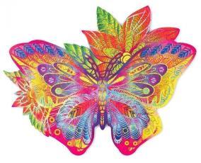 Деревянный пазл Wood Trick «Драгоценная бабочка», 36x28 см от 3 490 руб