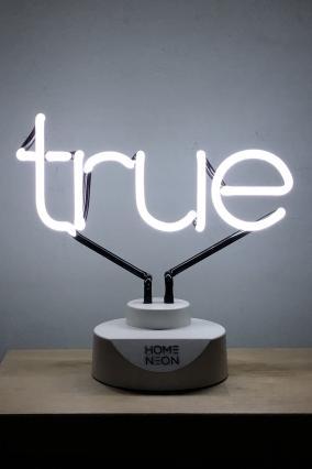 "Неоновая лампа ""True or false"" от 6 990 руб"