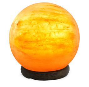 Декоративно-обработанная соляная лампа в комплекте «Сфера» 3-4 кг от 2 649 руб
