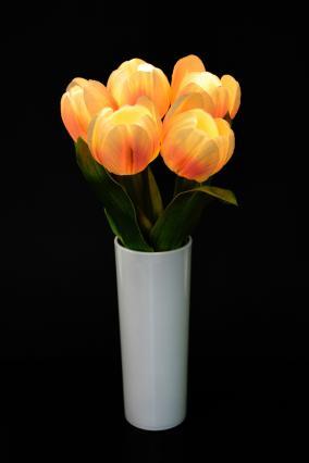 """Светодиодные цветы """"Тюльпаны"""" (кремовые) от 1 290 руб"""