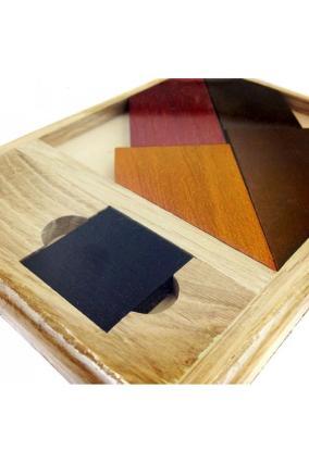 Головоломка деревянная «Черный квадрат» №2 Элит от 549 руб