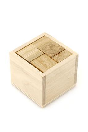 """Деревянная головоломка """"Кубик для начинающих"""" от 449 руб"""
