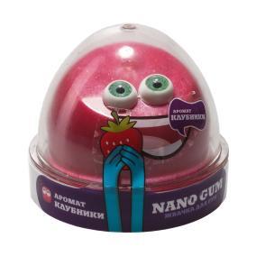 Жвачка для рук Nano gum, с ароматом клубники от 490 руб
