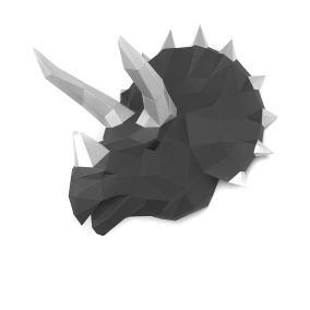 """3D-конструктор Paperraz """"Динозавр Топс"""" графитовый от 1 790 руб"""