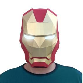 3D-конструктор Paperraz Маска «Железный человек» от 1 200 руб