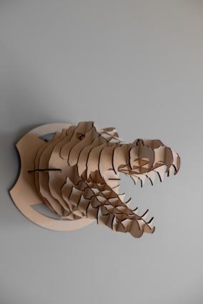 """Деревянный 3D конструктор """"Голова крокодила"""" от 1 890 руб"""