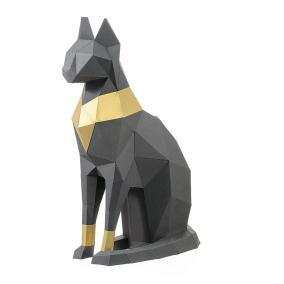 """3D Фигура """"Кошка Бастет"""", графитовая, набор для творчества от 1 390 руб"""