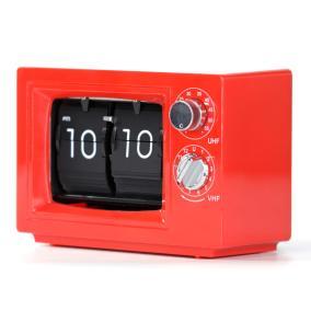 Перекидные часы Air-Flip красные TV с подсветкой от 3 400 руб