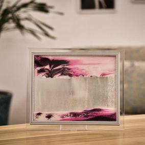 """""""Песочная картина - Цвет - розовый - 25*30 см"""" от 1 649 руб"""