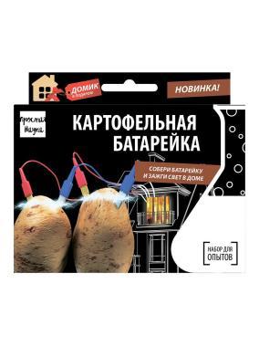 """Набор для опытов """"Картофельная батарейка"""" от 350 руб"""