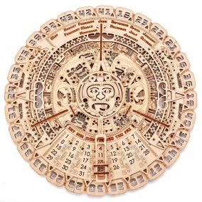 Механическая сборная модель Wood Trick Календарь Майя от 3 690 руб