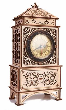 Механическая сборная модель Wood Trick Классические часы от 6 390 руб