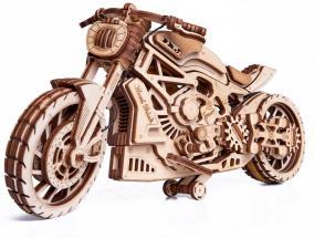 Механическая сборная модель Wood Trick Мотоцикл DMS от 2 190 руб