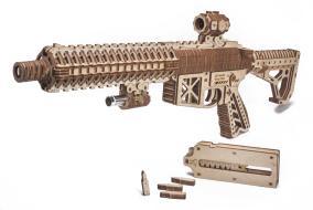 Механическая сборная модель Wood Trick Штурмовая винтовка AR-T от 4 990 руб