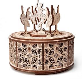 "Сборная музыкальная шкатулка Wood Trick ""Танцующие балерины"" от 2 390 руб"