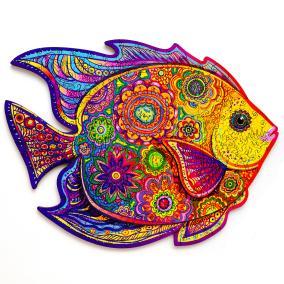 Unidragon деревянный пазл «Сияющая рыбка» KS от 3 490 руб