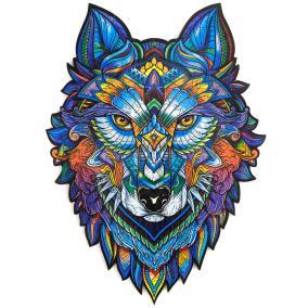 Unidragon деревянный пазл «Величественный Волк» KS А3 от 3 490 руб