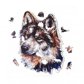 Деревянный пазл Артвентура Серый волк, 35х30 см, 152 детали от 2 790 руб