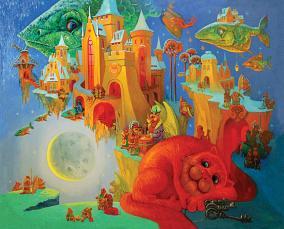 """Деревянный пазл: DaVICI """"Небесный почтальон"""" (230 деталей) от 3 000 руб"""
