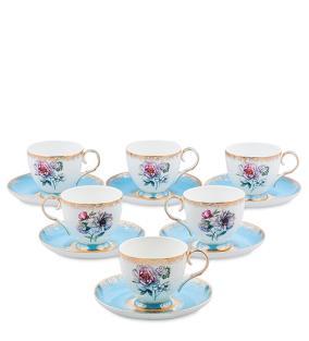 """Чайный сервиз """"Цветы любви"""" (на 6 персон) от 9 200 руб"""