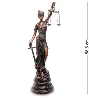 """Статуэтка """"Богиня правосудия"""", 58,5 см от 6 650 руб"""