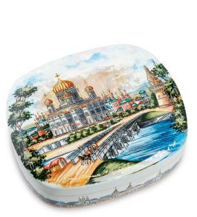Шкатулка Храм Христа Спасителя в летний день (ручная работа) от 5 850 руб