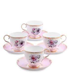 """Чайный сервиз """"Цветы Неаполя"""" (на 4 персоны) от 6 300 руб"""